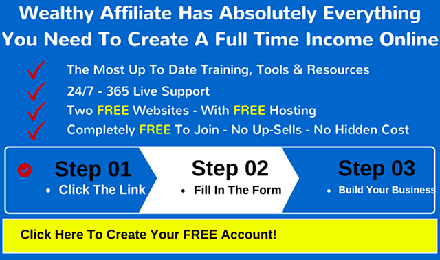 Wealthy Affiliate Has Everything You Need