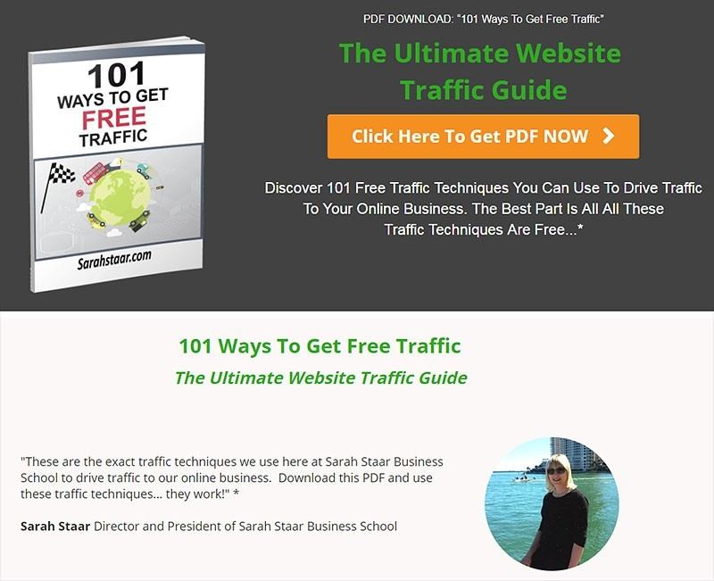101 Ways To Get Free Traffic Ebook Email List Building
