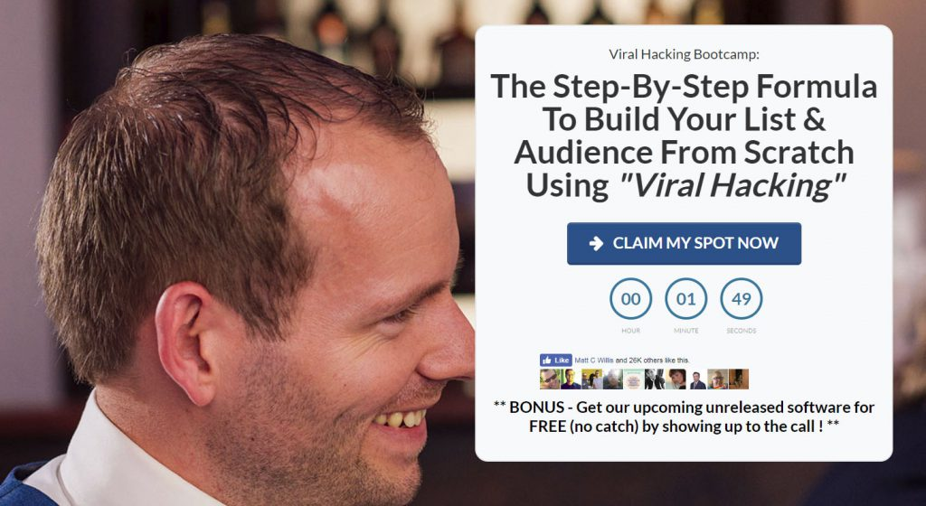 "Build Your List & Audience From Scratch Using ""Viral Hacking"""