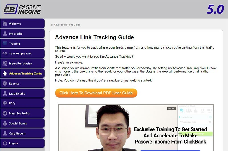CB Passive Income 5.0 Advanced Link Tracking Guide
