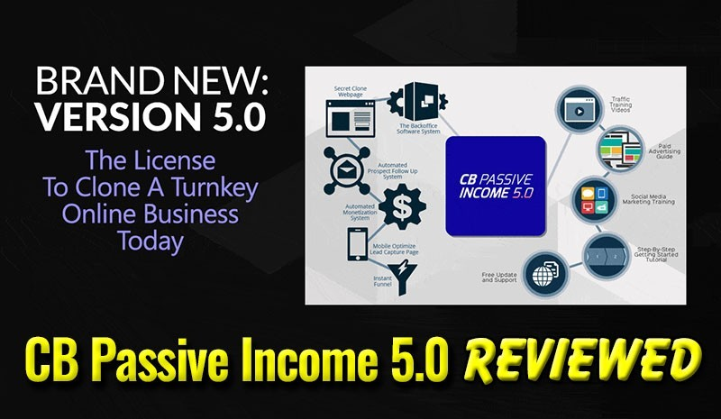 CB Passive Income 5.0 Reviewed