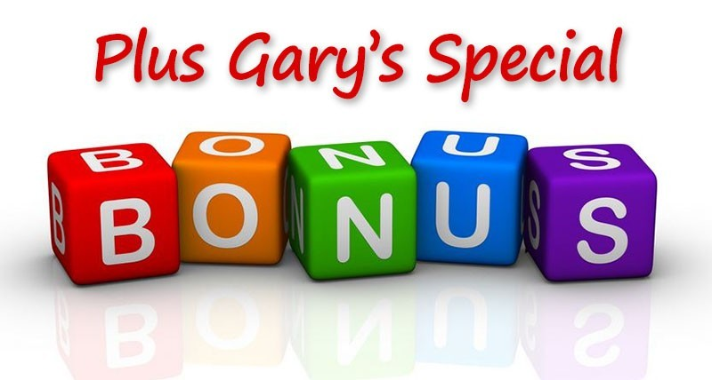 Gary's CB Passive Income Bonus Package
