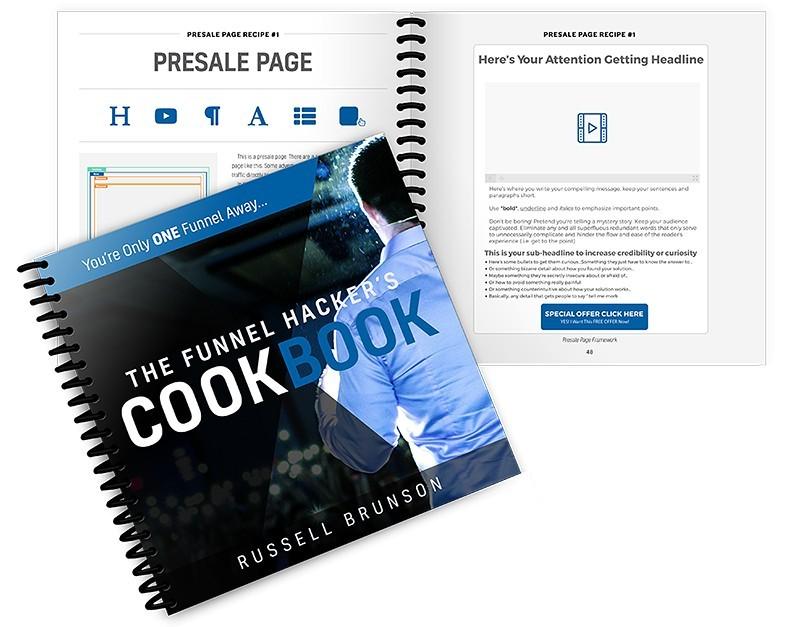 FREE Funnel Hacker's Cookbook (PDF)