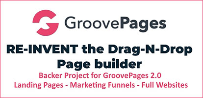 GroovePages Page Builder Service