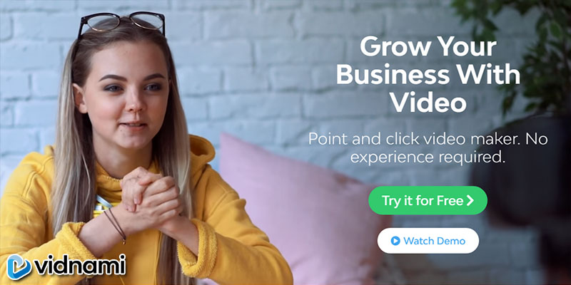 Vidnami - Grow Your Business With Video