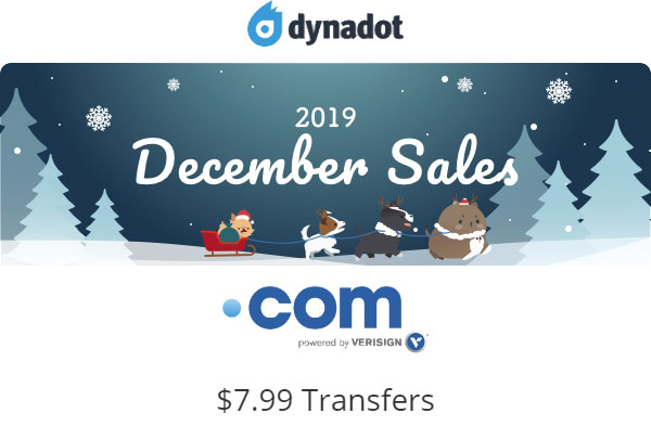 Dynadot Black Friday Deals