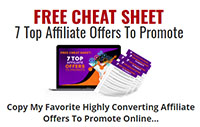 Free Cheat Sheet - 7 Top Offers