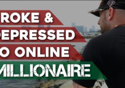Broke And Depressed To Online Millionaire - The Zach Crawford Story