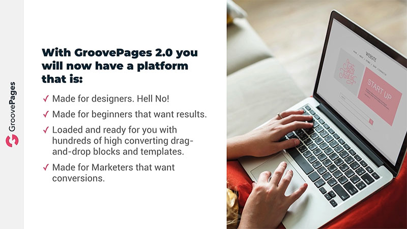 GroovePages Features