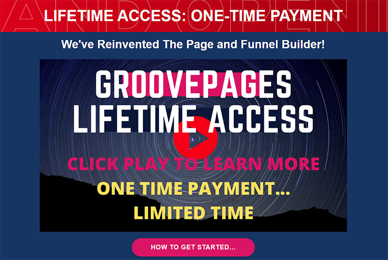 GroovePages Lifetime Access
