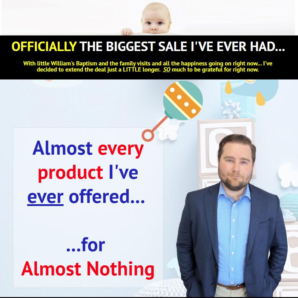 New Baby Sale PLR Deal