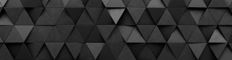 Pattern of Black Triangles