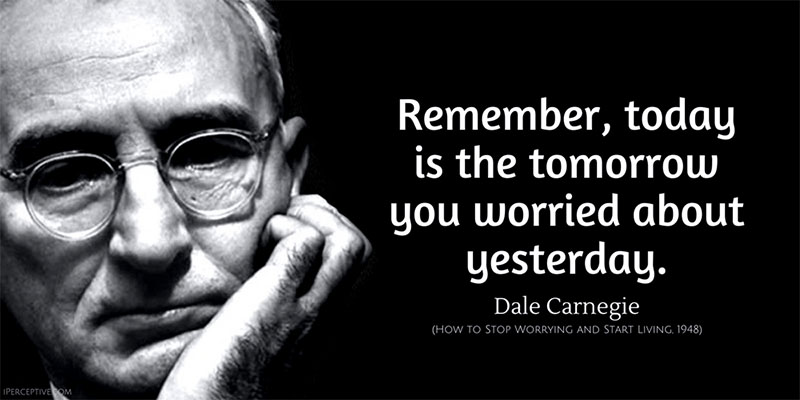 Dale Carnegie Remember Quote