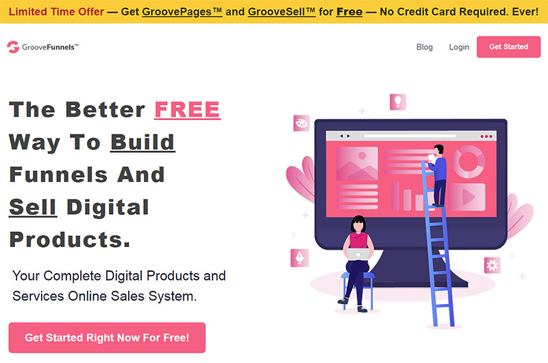 GroovePages Free Account