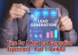 Time For A New Lead Generation Experiment