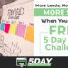 Get Leads, Leads and More Leads…in 5 Days