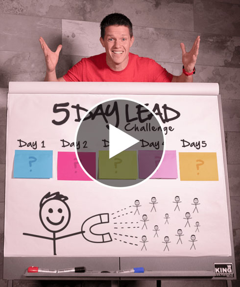 5 Day Lead Challenge Video