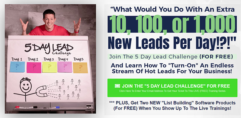Free Training: The 5 Day Lead Challenge