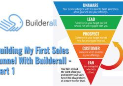 Building My First Sales Funnel With Builderall-Part 1