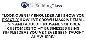 List Building Class