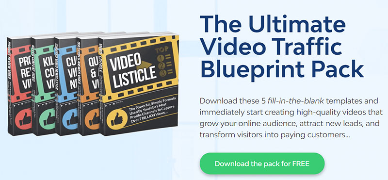 Ultimate Video Traffic Blueprint Pack